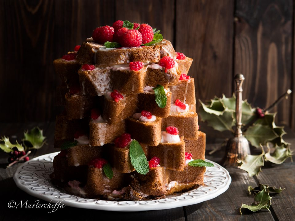 pandoro farcito merry christmas food photography