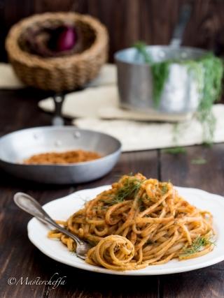 Spaghetti al finocchietto di Donna Francesca sicilia bedda