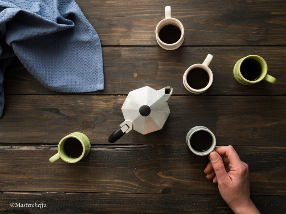 coffee food photography