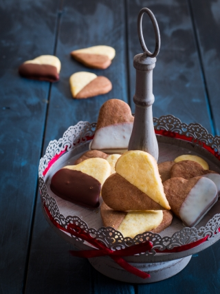 cuoricini san valentino desserts food photography