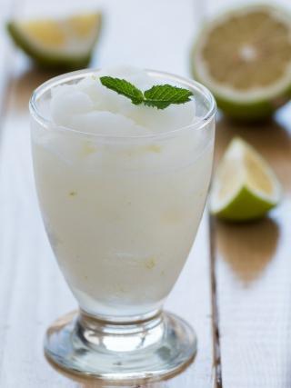 granita limone menta sicilia bedda food photography desserts