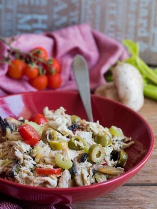 insalata di pollo ricca salads food photography