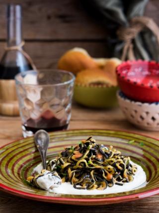 pasta ai ricci sicilia bedda food photography