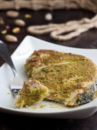 pesce spada pistacchio fish and sea fruits food photography