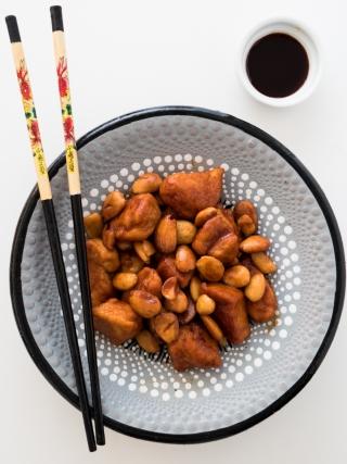 pollo alle mandorle around the world food photography