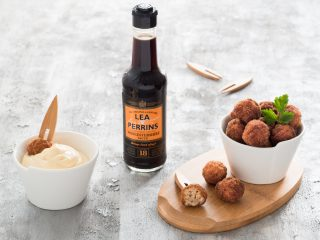 Lea & Perrins ads food photography