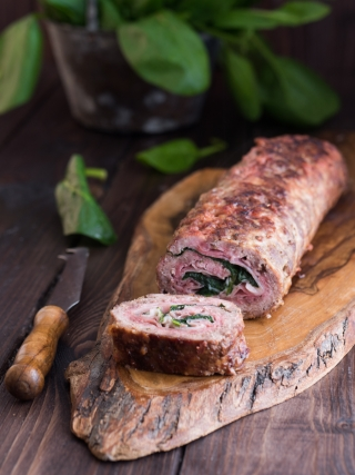 polpettone - meat food photography