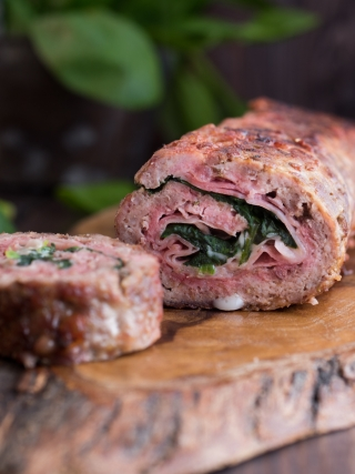 polpettone meat food photography
