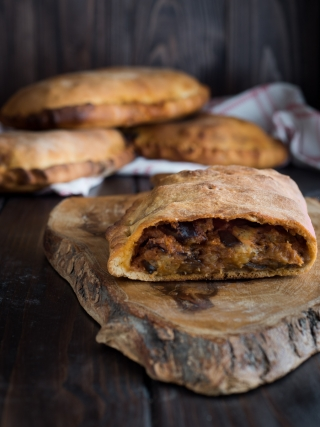 scacce melanzane sicilia bedda food photography