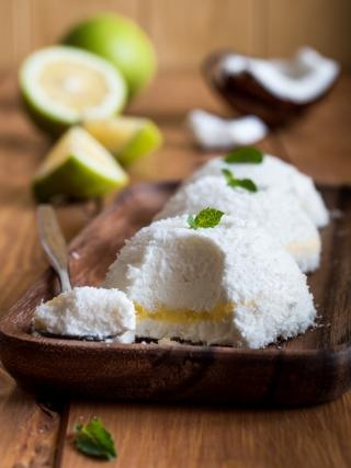 semifreddi cocco lemon curd