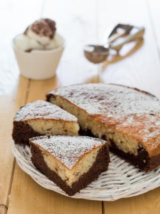torta col gelato nell'impasto